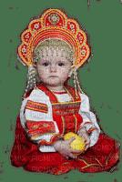 russian child original costume