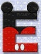 image encre lettre E Mickey Disney edited by me