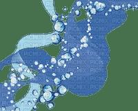 grafisme fractale deco bleu