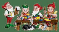 christmas elves elfs lutins noel
