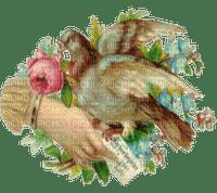 Bird flowers and hand Joyful226