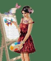 loly33 femme  peinture