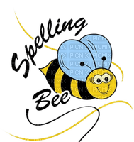 Kaz_Creations Cute Cartoon Love Bees Bee Wasp Text Spelling