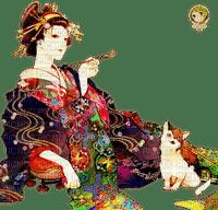geisha asian woman femme asiatique