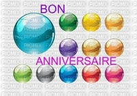 image encre color bulle bon anniversaire edited by me