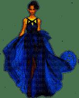 femme en bleu.Cheyenne63