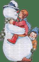 hiver neige bonhomme de neige_Winter the snow_ Snowman