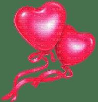 heart ballon pink