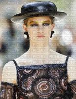 image encre couleur femme visage chapeau mode charme edited by me