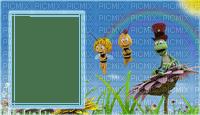 image encre la nature abeille Maya fleurs printemps edited by me