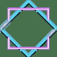 neon frame cadre