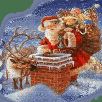 santa on the roof pere  noel 🎅🎁