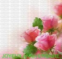 image encre joyeux anniversaire mariage fleurs roses texture edited by me