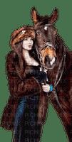 femme avec cheval.Cheyenne63