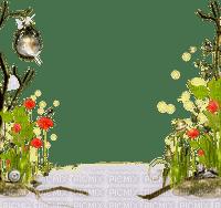 spring flower frame deco cadre fleur printemps