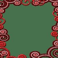 cadre rouge  red frame