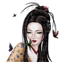 geisha asian woman femme