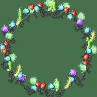 Kaz_Creations Circle Frames Frame Balloons