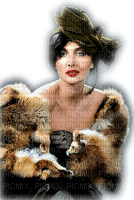 femme retro, vintage, Pelageya