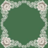 minou-frame-vintage-flower-gray