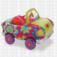 Petite voiture peinte