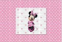 image encre color effet à pois  Minnie Disney edited by me