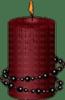 gothic candle gothique bougie