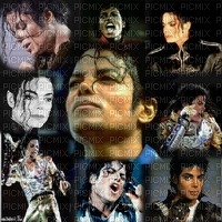 MICHAEL JACKSON COLLAGE BG