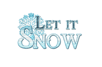 Let it Snow Text