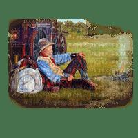 loly33 cowboy western landscape paysage