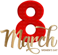8 of march happy womens day text