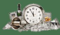 new year clock deco horloge annee