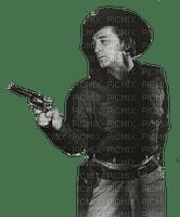 Cowboy Robert Mitchum