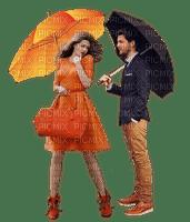 Couple.Automne.Autumn.Umbrella.Parapluie.Rain.orange.Victoriabea