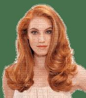 portrait femme rousse