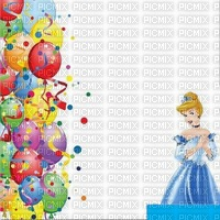 image encre bon anniversaire color effet Disney ballons  edited by me