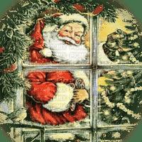 WINDOW CHRISTMAS santa fenetre noel