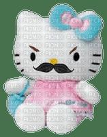 Ma peluche préférée modifiée doudou moustache drôle Debutante hello kitty