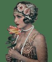 woman femme frau beauty tube human person people spring visage face vintage retro flower fleur