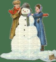 loly33 bonhomme de neige enfant