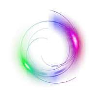 colorful deco frame circle