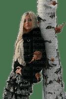 kvinna-träd----woman --tree