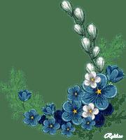 déco de pâques gif animation Adam64  fleurs