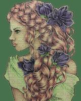 kikkapink woman flowers