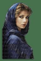 kvinna-sjal--ansikte-woman-scarf -face