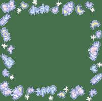 pastel kawaii frame
