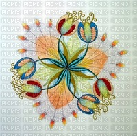 MMarcia fundo floral