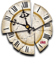 Broken watch.Clock.Horloge cassée.Reloj.cracked.Victoriabea