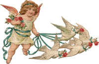 angel cupido vintage  ange cupidon