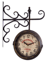 Station clock.Train.horloge de gare.old.Victoriabea